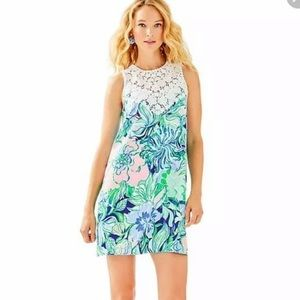 NWT Lilly Pulitzer Nala Shift Dress Party Thyme